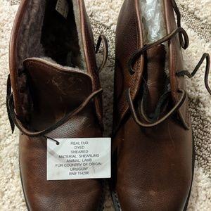 Other - Frye's men's James lug chukka boot Whiskey color